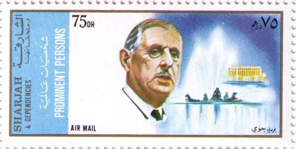 1970 - шарль де голль, французский военный и государственный деятель, 18-й президент франции