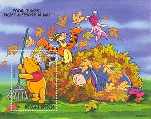 Картинки винипух и осень